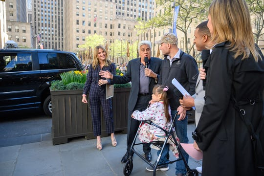 USA Today: Jenna Bush Hager presents her grandfather's handicap-accessible car to disabled Navy vet
