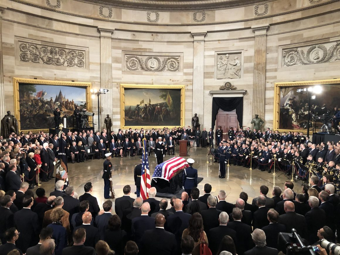 """Spring 2019 Newsletter: Tribute to """"A Great Man"""""""