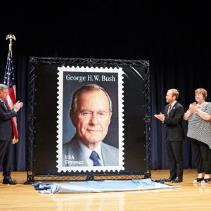 Houston Chronicle: George H.W. Bush to be honored by Postal Service with 'forever' stamp on June 12