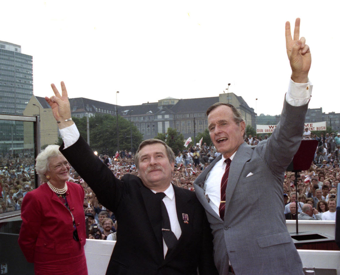 "JULY 1989: HISTORIC VISITS TO POLAND AND HUNGARY ""A WESTERN VISION OF THE FUTURE"""
