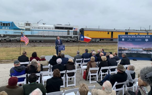 The Eagle: Union Pacific: No. 4141 locomotive to be permanently displayed at Bush Library