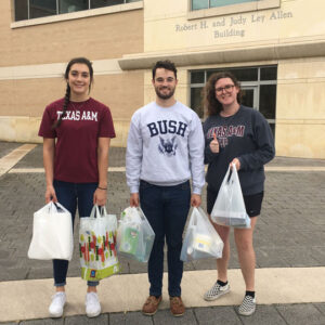 The Eagle: Bush School students' acts of service honor former president