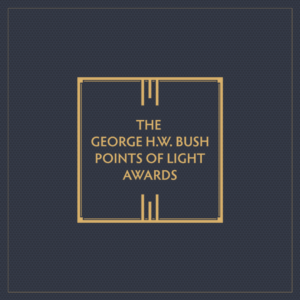 It's Almost Time for The Second Annual Celebration of the George H.W. Bush Points of Light Awards
