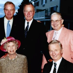 Nancy Bush Ellis, Sister of Former President George H. W. Bush, Dies at 94 Due to COVID-19 Complications