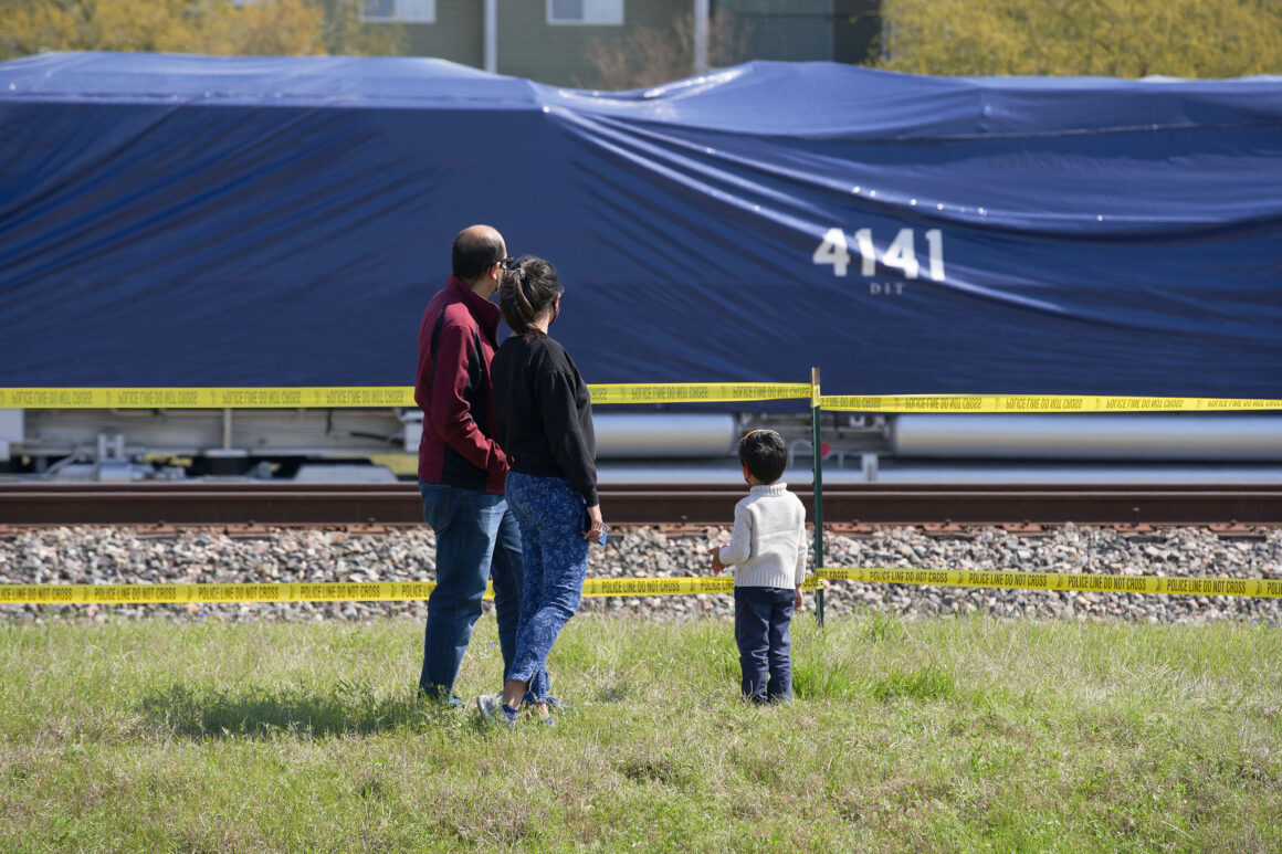 No. 4141 locomotive arrives in College Station to be enshrined at George H.W. Bush Presidential Library & Museum