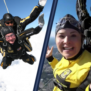 Watch Jenna Bush Hager skydive live on TODAY to honor George H.W. Bush