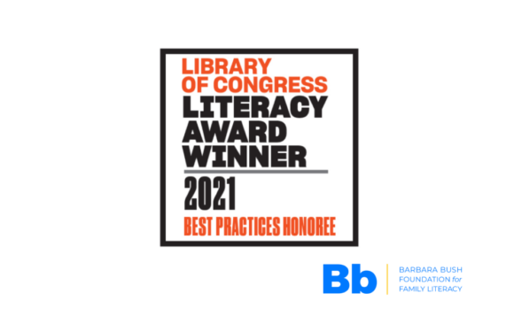 2021 Library of Congress Literacy Awards Program Best Practices Honoree