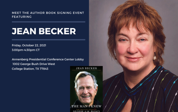 Meet the Author Book Signing Event featuring Jean Becker